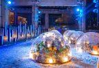 El restaurante de lujo que se instaló en un campamento de personas sin hogar
