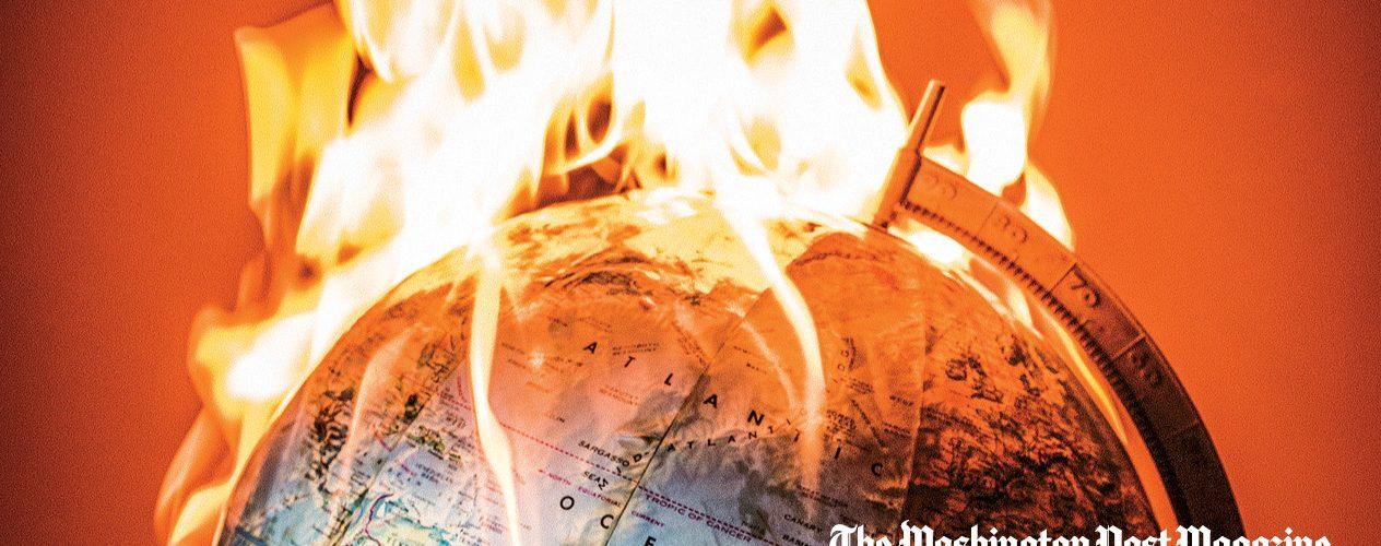 Las portadas de Washing Post contra el cambio climático
