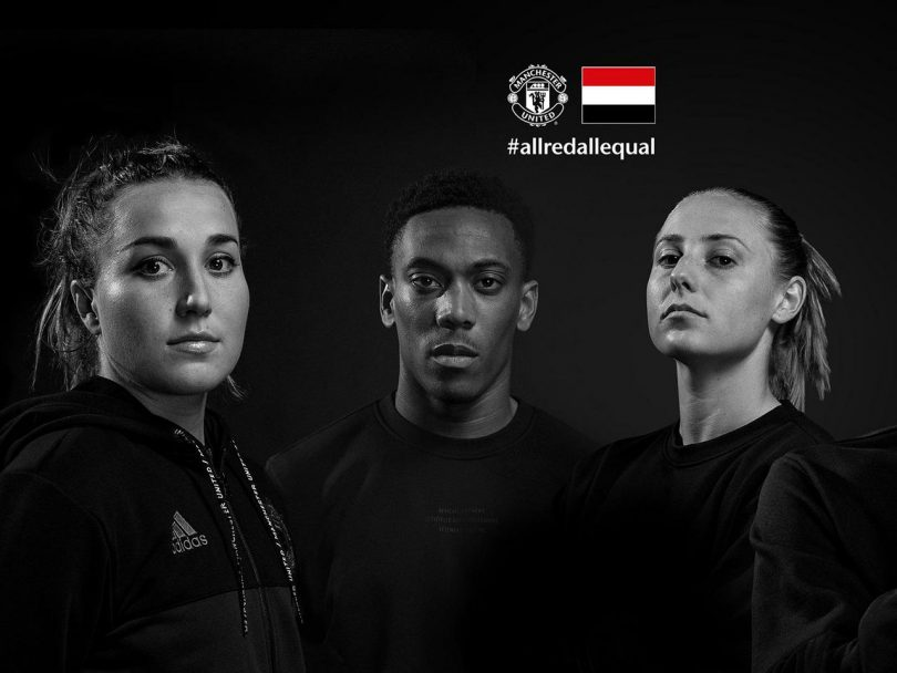 Manchester United lanza una campaña de diversidad como parte del compromiso #AllRedAllEqual