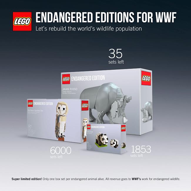 Uno de los mejores programas de RSE es de LEGO con WWF