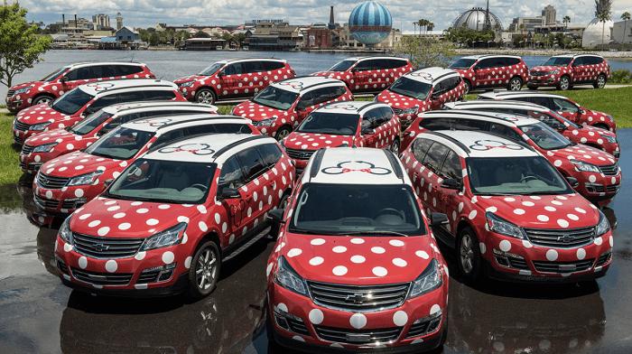 Predicciones de movilidad, ejemplo de Disney
