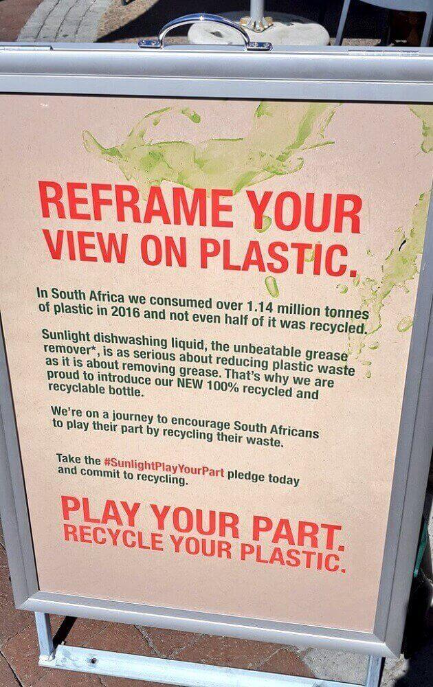 La estrategia de empaques plásticos de Unilever animar a los consumidores que reciclen