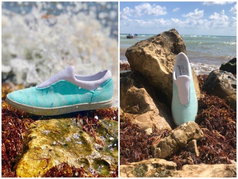 Empresa que transforma el sargazo en zapatos