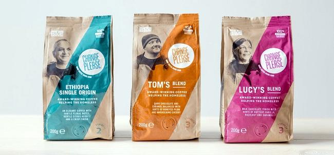 Café ayuda a las personas sin hogar - objetivo
