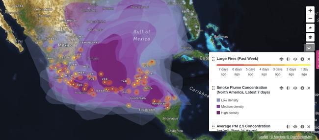 Planes de emergencia vs cambio climático - incendios en MX