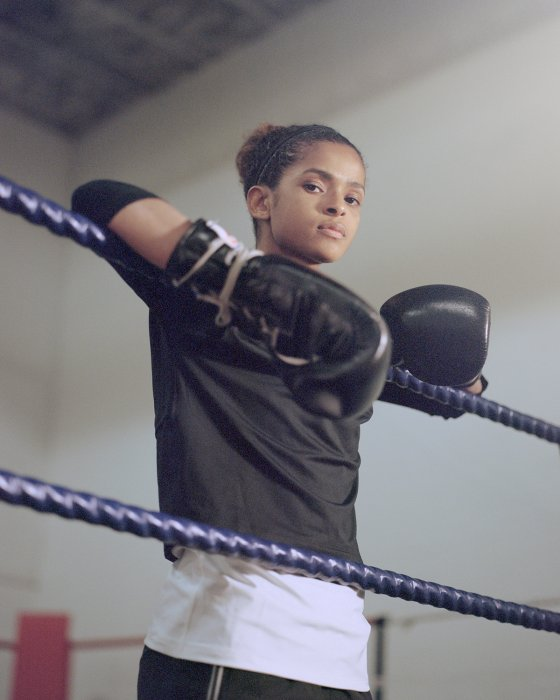 La boxeadora Ramla Ali en la lista de la siguiente generacion de lideres segun Time