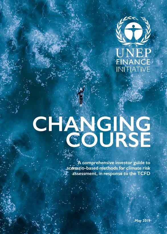 Guía para inversionistas ante el cambio climático - reporte