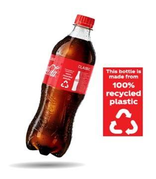 Todas las botellas de plástico de una sola porción de Coca-Cola Amatil en Australia ahora cambiarán a los nuevos materiales totalmente reciclados para fines de 2019.