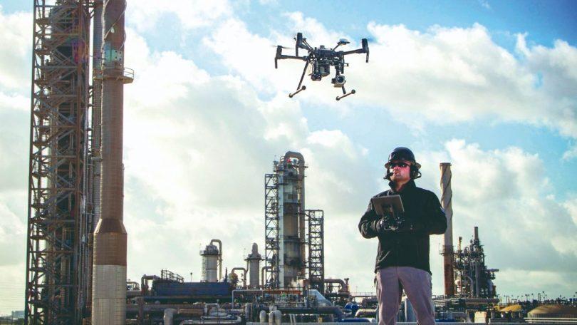 Drones sustituirán a personas en empleos de alto riesgo