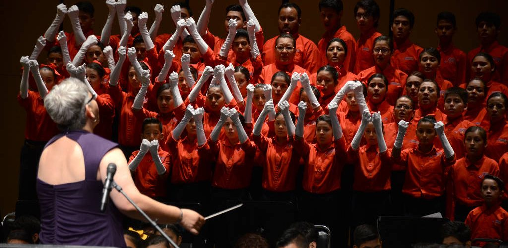 Orquestas de Fundación Azteca son un ejemplo