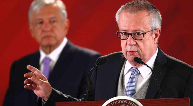 Renuncia secretario de hacienda - Carlos Urzúa