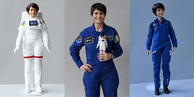 Como parte de la responsabilidad social de Barbie, la marca ha creado una muñeca única a semejanza de Samantha Cristoforetti, la única mujer astronauta activa en Europa.