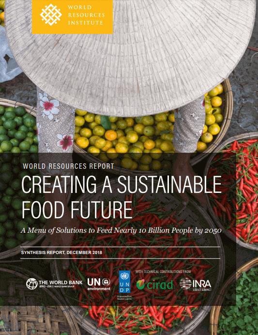 Reporte - crear un futuro alimentario sostenible