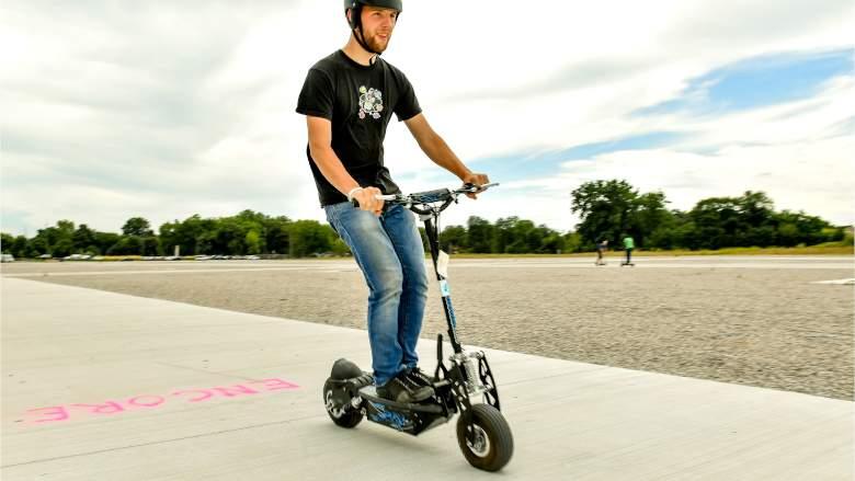 Son los scooters buenos o malos para el medio ambiente