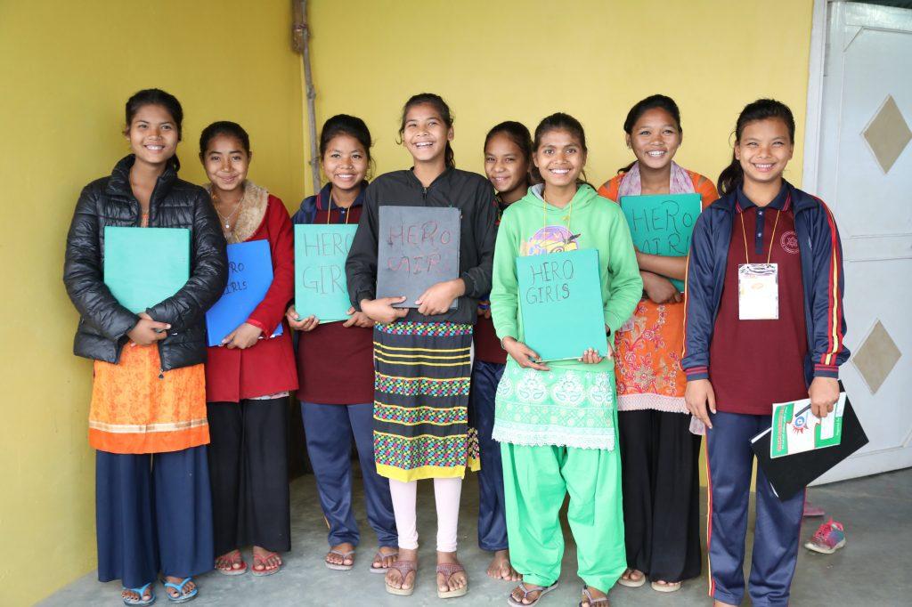 Cómo lograr impactos positivos desde la empresa en el día a día Hero Girls