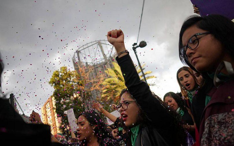 marcha vs violencia de mujeres