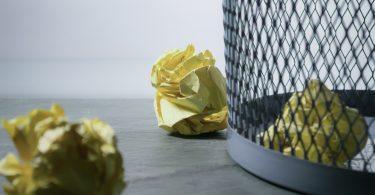 Cómo manejar los desechos de papel