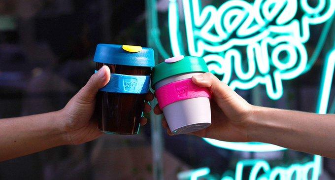 KeepCup, el vaso reutilizable que ayuda al planeta