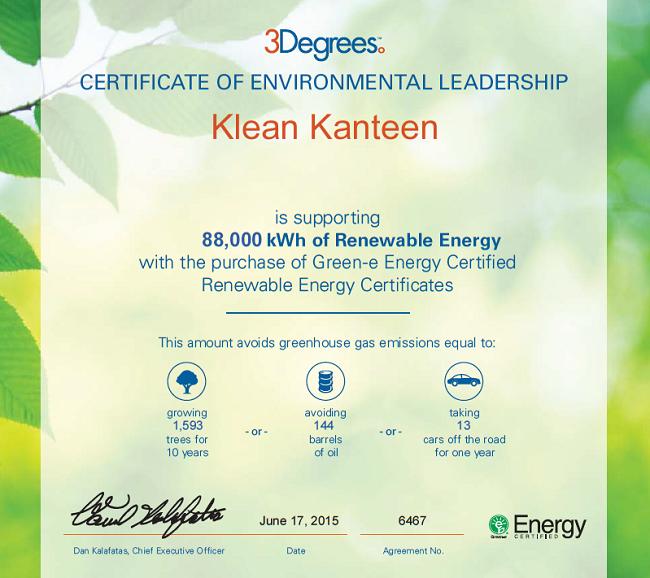 B Corp que priorizan la mitigación del cambio climático - klean kanteen
