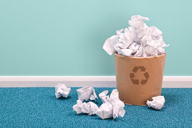 Maneras de manejar los desechos de papel