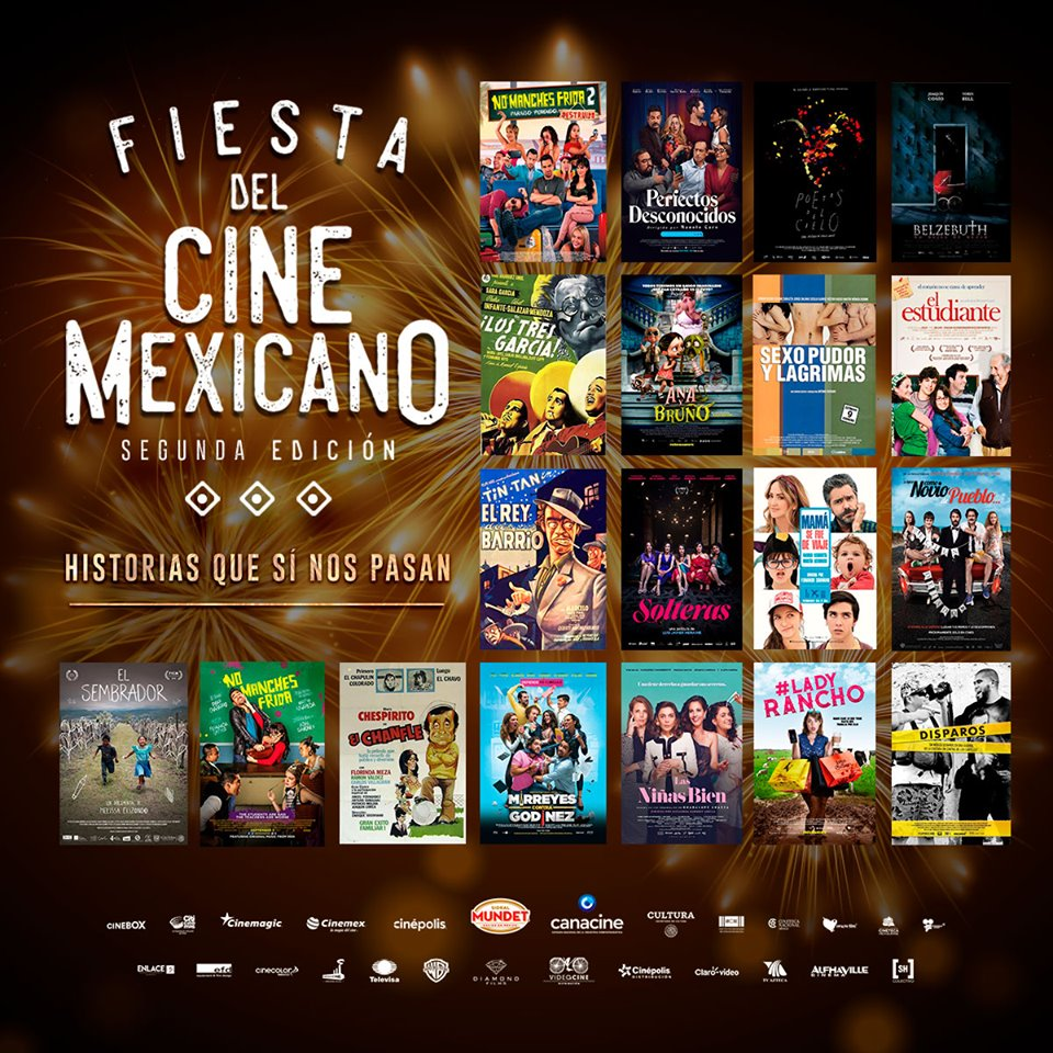 fiesta mexicana del cine