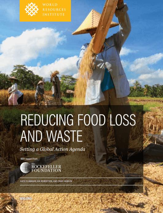 Reporte para reducir el desperdicio de alimentos