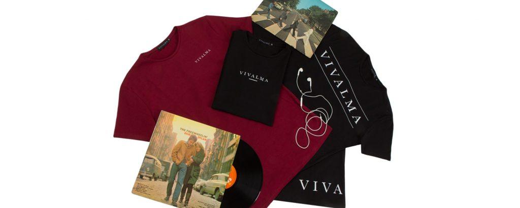 Camisetas vivalma