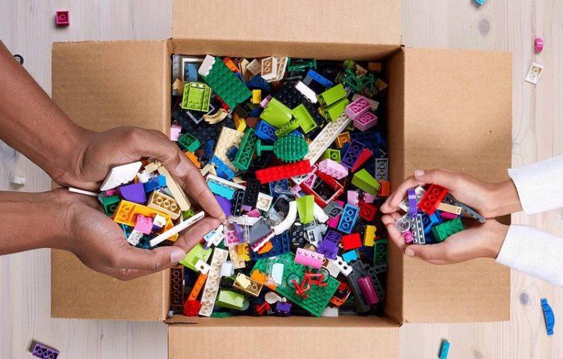 Qué hacer con tus viejos LEGOs