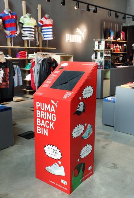 Cómo tener una tienda más sostenible caso Puma