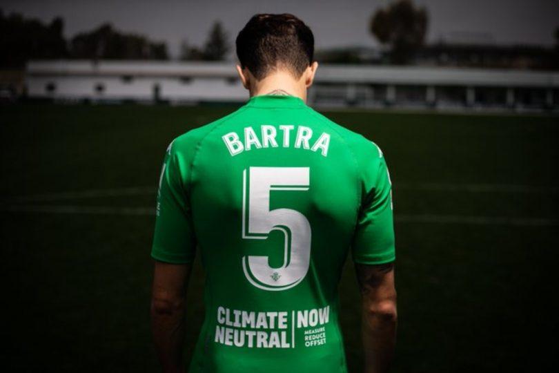 Bartra. Real Betis equipo más responsable con el medio ambiente en España