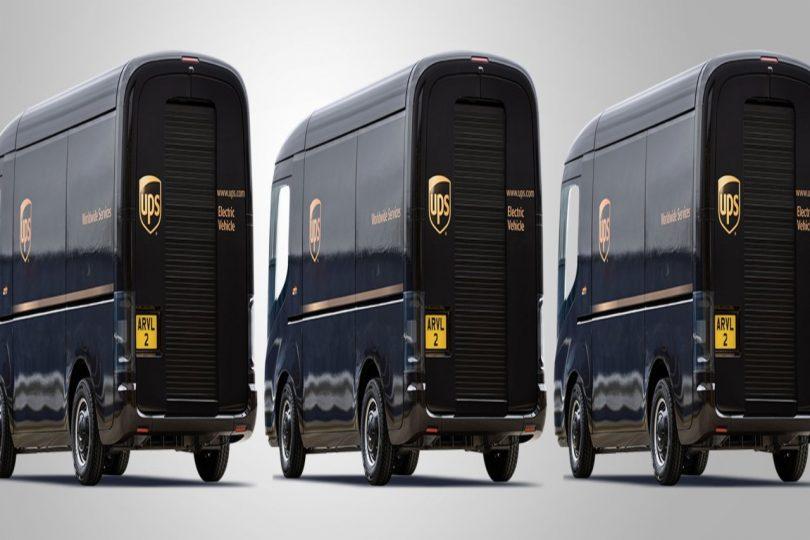 UPS. UPS invierte en compañía de vehículos eléctricos ¡y pide 10 mil camionetas repartidoras!