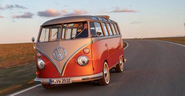 ¡Un sueño! Volkswagen crea versión totalmente eléctrica de su icónica Combi