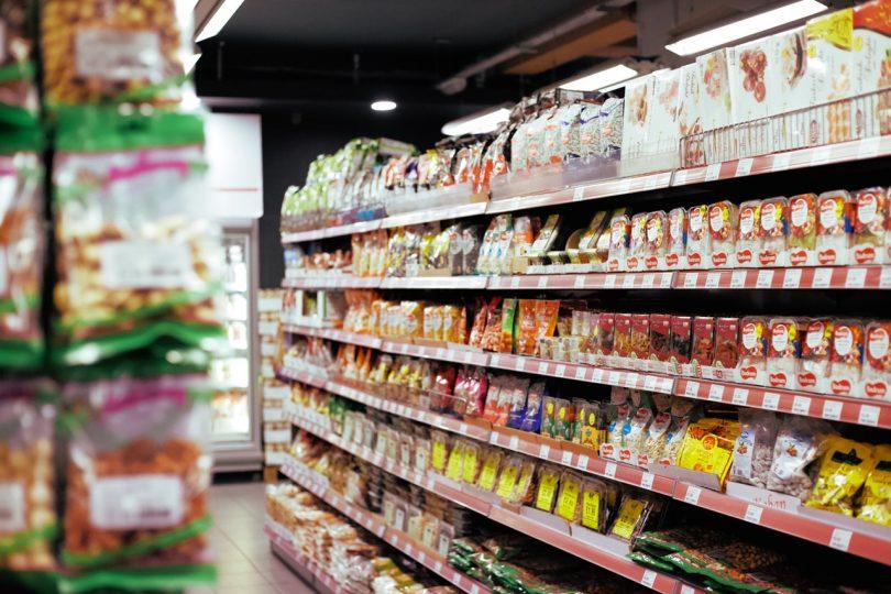 Supermercado - etiquetado de alimentos