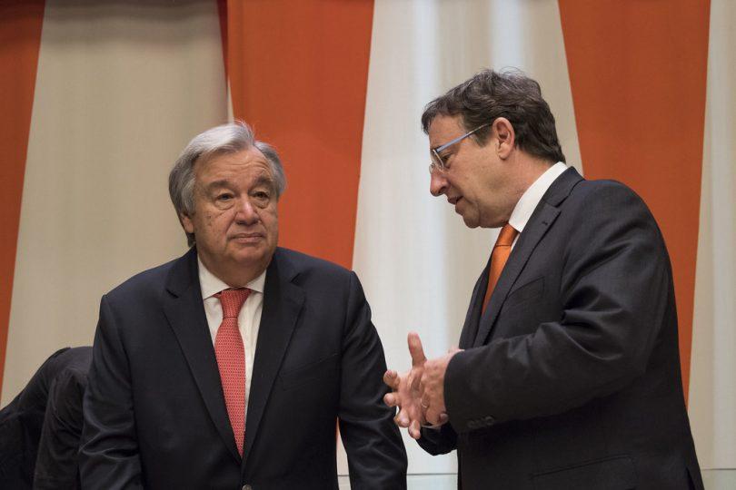 La recuperación económica debe transitar por la sustentabilidad: António Guterres