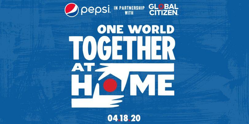 Pepsi y Global Citizen llevarán a cabo concierto para apoyar en la lucha vs la COVID-19
