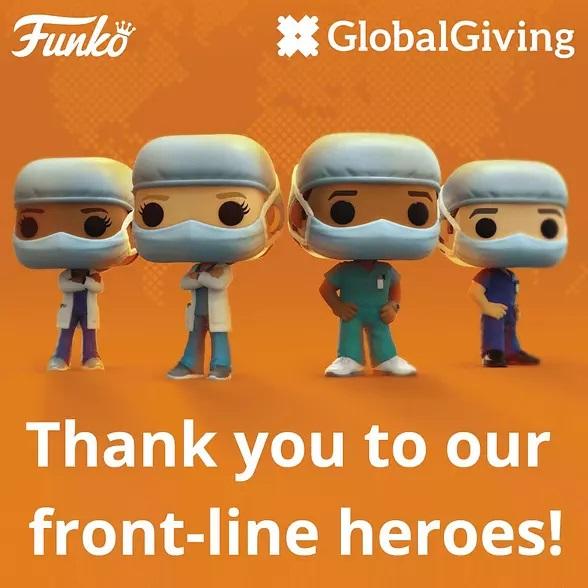 Funko lanza línea coleccionable para honrar a trabajadores de la salud