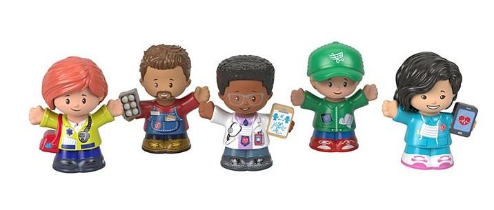 Lanza Mattel figuras de acción para honrar a los héroes vs COVID-19 ¡y con causa!