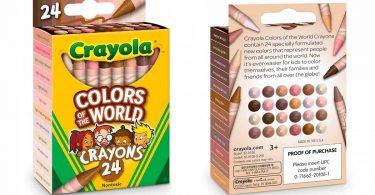 Crayola lanza crayones inspirados en la piel de los habitantes del mundo