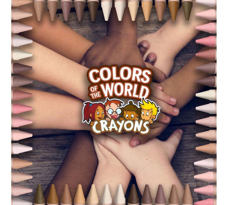 CrayolCrayola lanza crayones inspirados en la piel de los habitantes del mundoa lanza crayones inspirados en la piel de los habitantes del mundo
