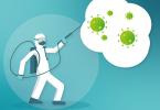 desinfectar. ¿Los desinfectantes serán suficientes para que las empresas garanticen entornos laborales seguros?