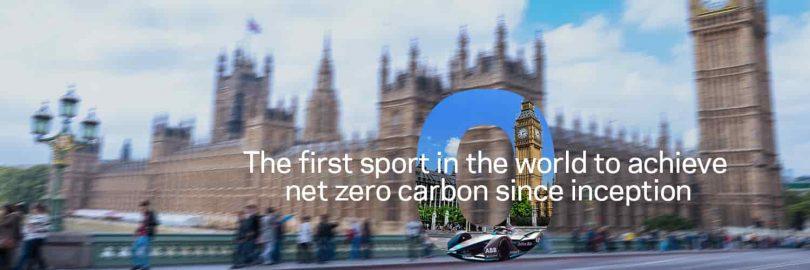 Fórmula E. Este es el primer deporte cero emisiones certificado