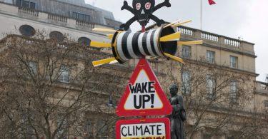 A este CEO lo arrestaron por protestar contra el cambio climático