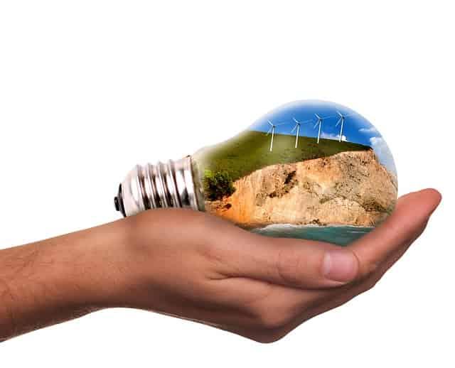 Foco.La energía solar y eólica ya alimentan a la décima parte del mundo