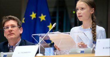 Greta Thunberg acusa a líderes mundiales de Greenwashing