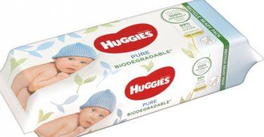 Toallitas Hugies. Huggies ha lanzado en Europa las primeras toallitas que se biodegradan en 15 días