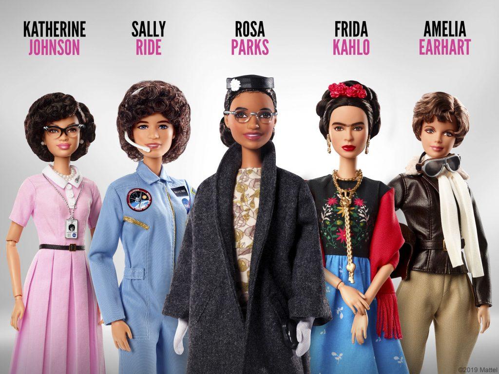 ¡Ellas son las 10 Barbie's Inspiring Women!
