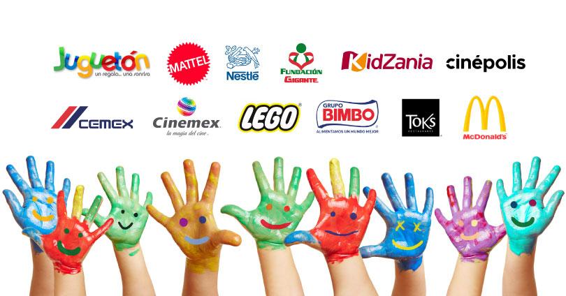 marcas que trabajan por los niños