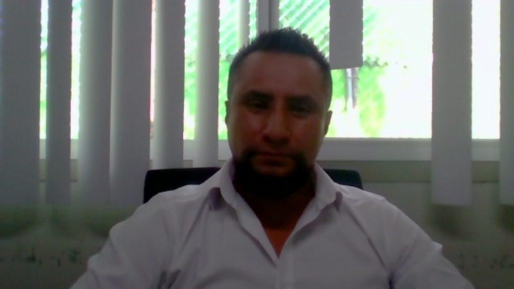 Víctor Manuel Vázquez Hernández, coordinador de Seguridad, Salud y Medio Ambiente de Trabajo