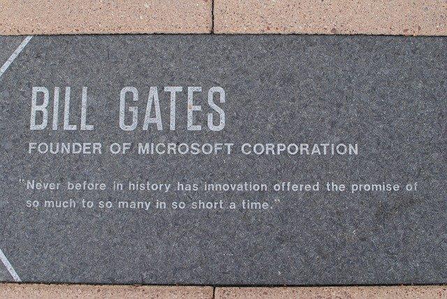 comportamiento irresponsable de Bill Gates