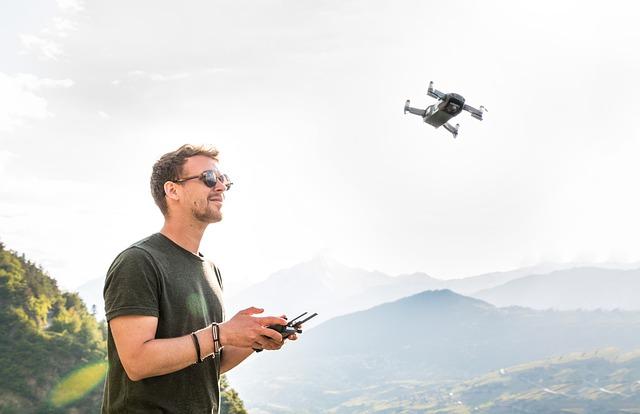drones impulsan el desarrollo social entregas
